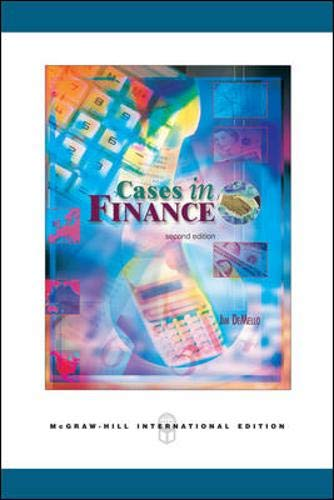 9780071244367: Cases in Finance