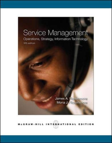 9780071244404: Service Management: With Student CD: Operations, Strategy, Information Technology