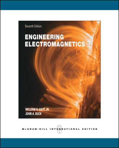 9780071244497: Engineering Electromagnetics. William H. Hayt, JR., John A. Buck