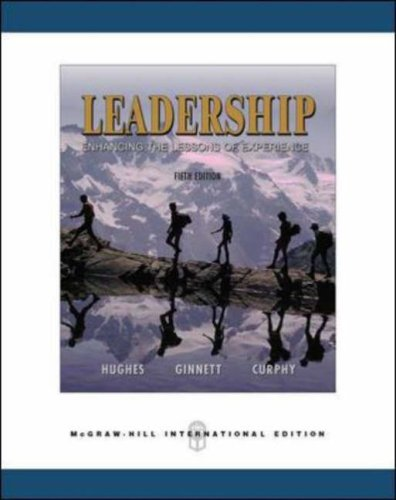 9780071244534: Leadership, Enhancing the Lesson of Experience