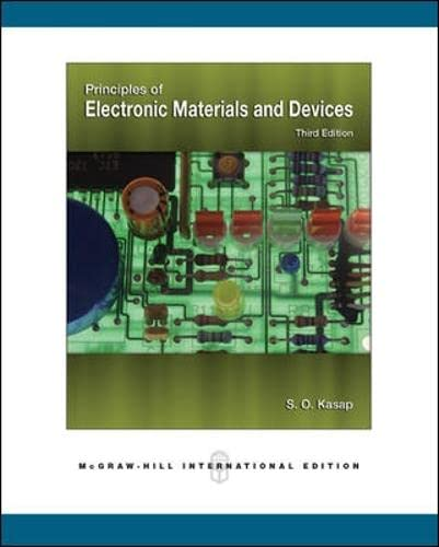 9780071244589: Principles of Electronic Materials and Devices (Int'l Ed)