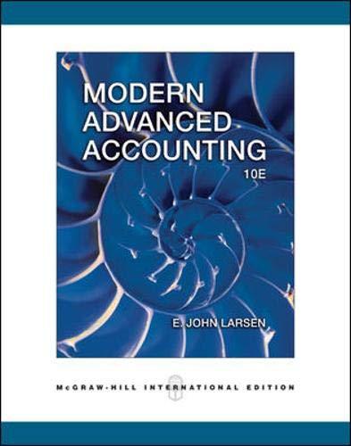 9780071244596: Modern Advanced Accounting