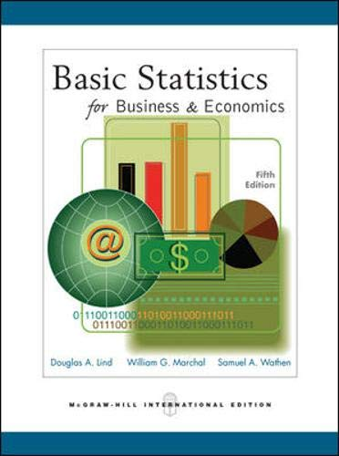 9780071244619: Basic Statistics for Business & Economics