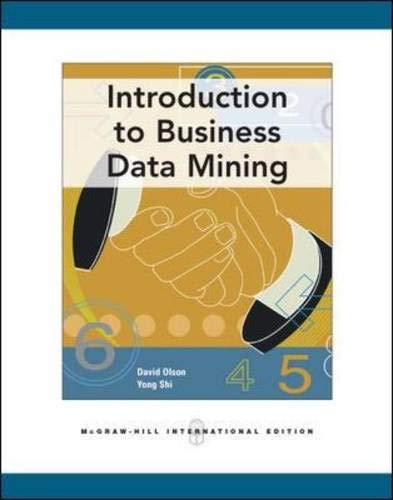 9780071244701: Introduction to Business Data Mining
