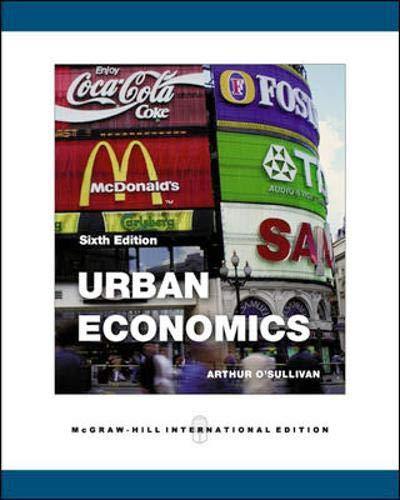 9780071244718: Urban Economics