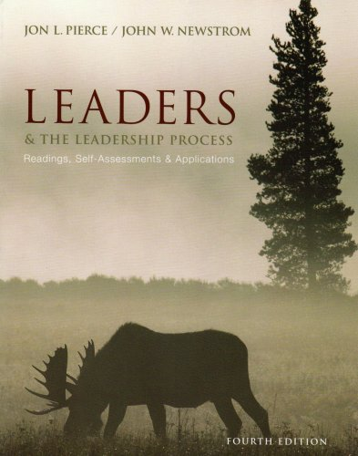 9780071244725: Leaders and the Leadership Process