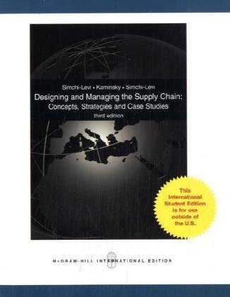 9780071244770: Designing and Managing the Supply Chain