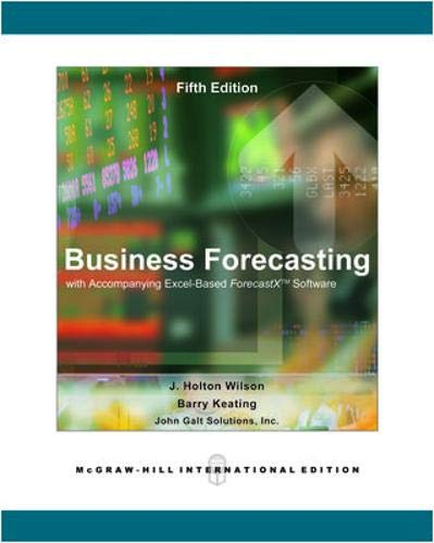 9780071244947: Business Forecasting: WITH ForecastX Software/student CD