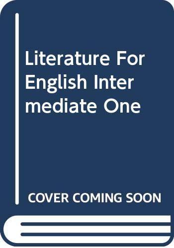 9780071246279: Literature for English Intermediate One