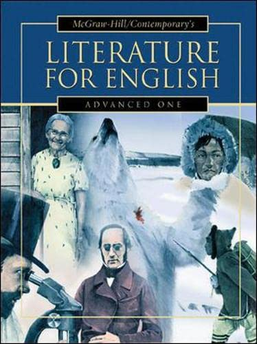 9780071246293: Literature for English: Advanced One Student Text