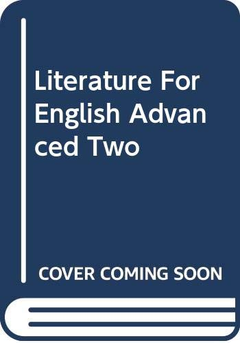 9780071246309: Literature for English Advanced Two