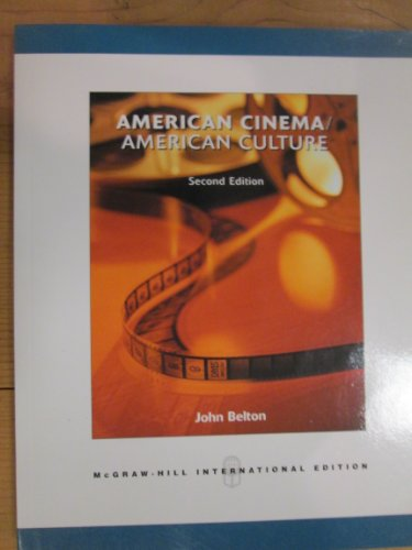 9780071246347: American Cinema, American Culture