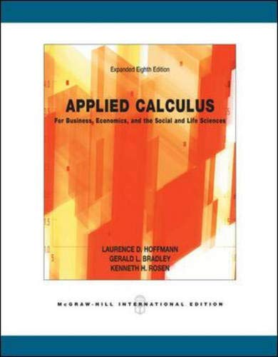 Calculus for Business, Economics and the Social and Life Sciences, Expanded Version with Mathzone (...