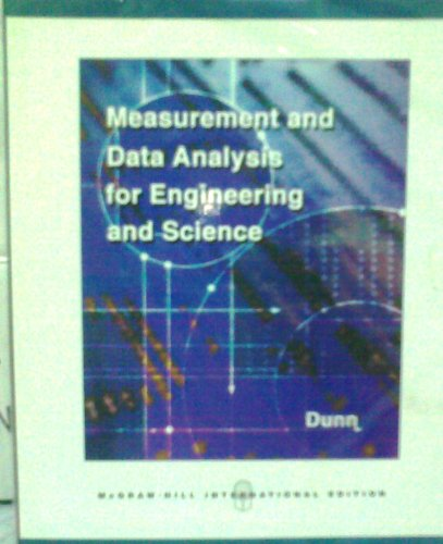 9780071246828: Measurement and Data Analysis for Engineering and Science