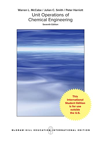 9780071247108: Unit Operations of Chemical Engineering (Int'l Ed)