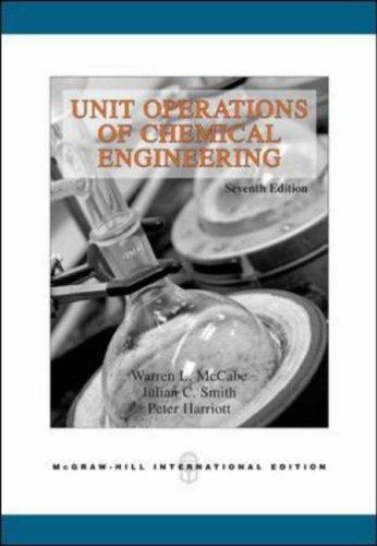 9780071247108: Unit Operations of Chemical Engineering, 7th Edition
