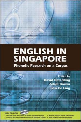9780071247276: English in Singapore: Phonetic Research on a Corpus