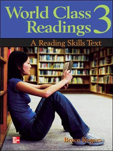9780071247672: World Class Readings Student Book 3 (Bk. 3)