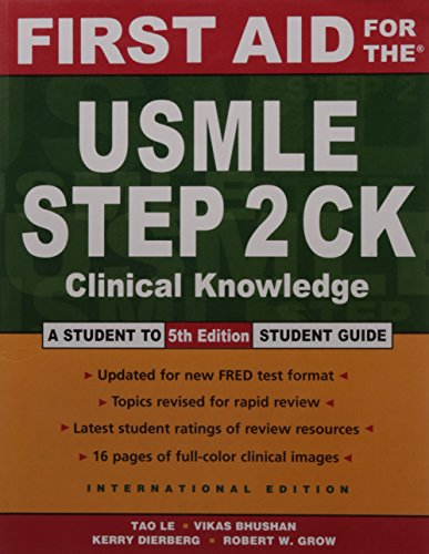 9780071248396: First Aid for the Usmle Step 2