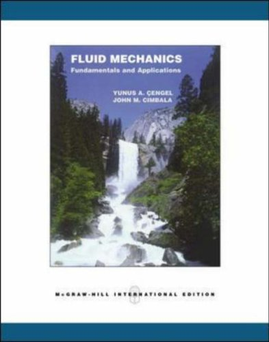 Fluid Mechanics: Cengel, Yunus A.;