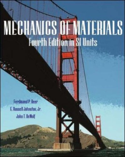 9780071249997: Mechanics of Materials, SI Metric Edition