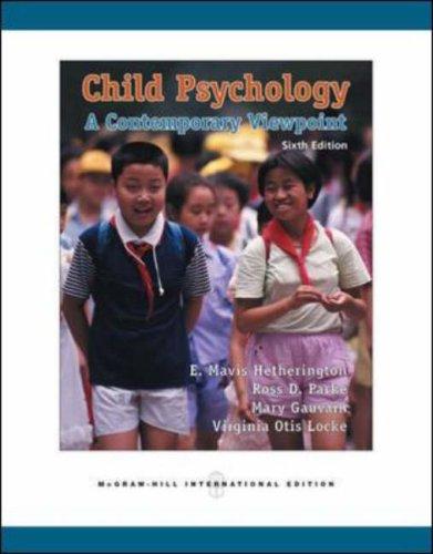 9780071251921: Child Psychology