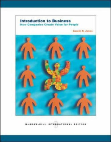 9780071252997: Introduction to Business: How Companies Create Value for People