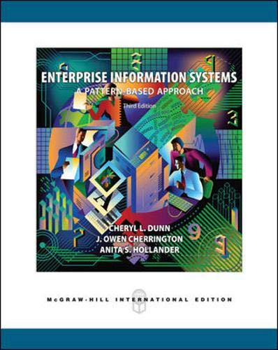 9780071253192: Enterprise Information Systems: A Pattern-based Approach