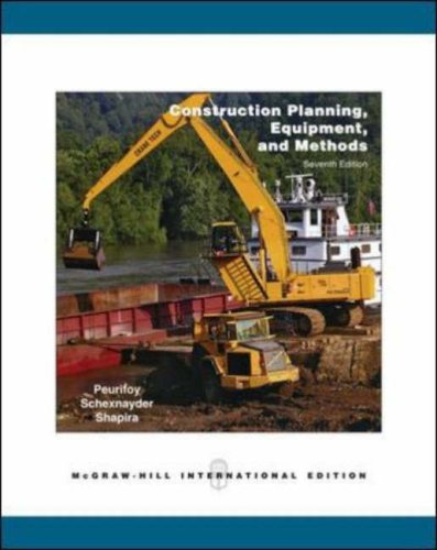 9780071253512: Construction Planning, Equipment, and Methods