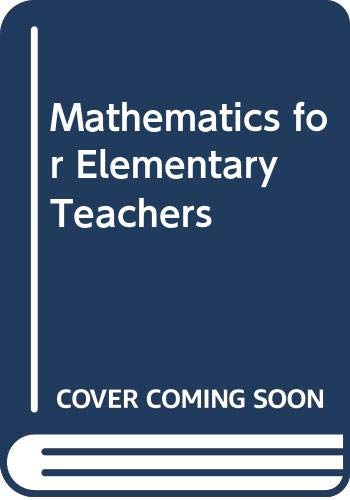 9780071254120: Mathematics for Elementary Teachers