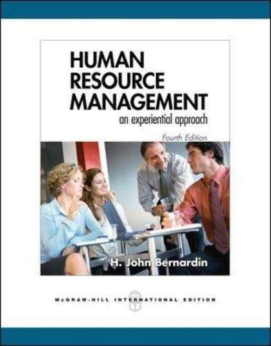 9780071254137: Human Resource Management: An Experiential Approach