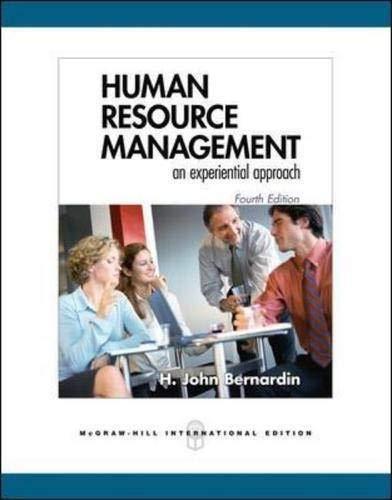 9780071254137: Human Resource Management: An Experiential Approach
