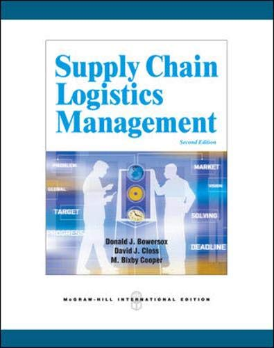 9780071254144: Supply Chain Logistics Management