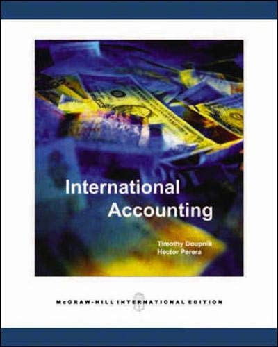 9780071254205: International Accounting
