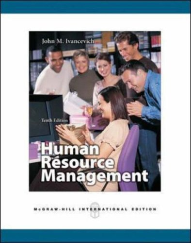 9780071254236: Human Resource Management