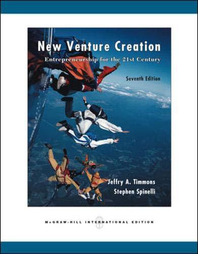 9780071254380: New Venture Creation: Entrepreneurship for the 21st Century - 7th Edition