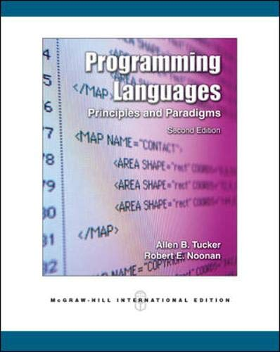 9780071254397: Programming Languages: Principles and Paradigms