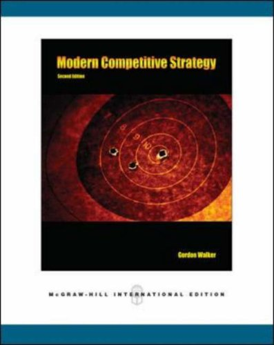 9780071254403: Modern Competitive Strategy