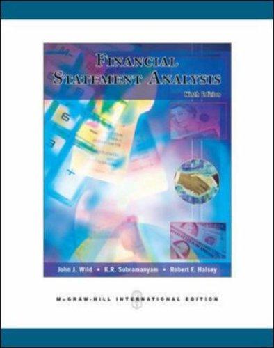 9780071254410: Financial Statement Analysis
