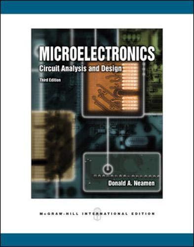 9780071254434: Microelectronics: Circuit Analysis and Design