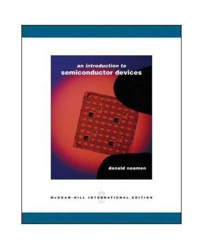 9780071254472: An Introduction to Semiconductor Devices (Int'l Ed)