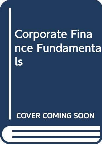 9780071254502: Corporate Finance Fundamentals