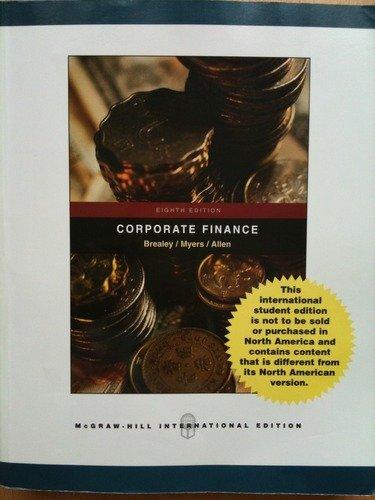 9780071254519: CORPORATE FINANCE