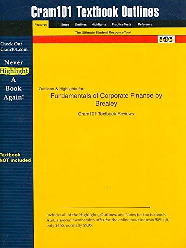 Corporate Finance - International Edition: Brealey;Myers;Allen;