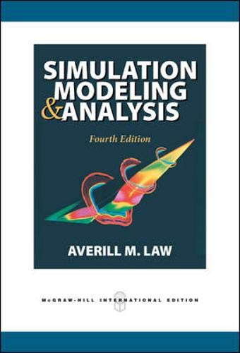 9780071255196: Simulation Modeling and Analysis