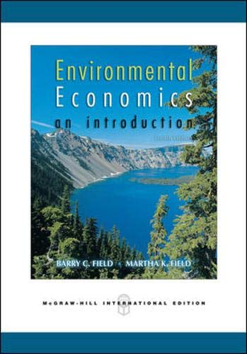 9780071255851: Environmental Economics