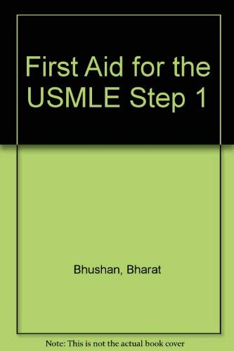 9780071256018: First Aid for the USMLE Step 1