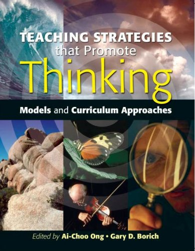 9780071256254: Teaching Strategies that Promote Thinking: Models and Curriculum Approaches
