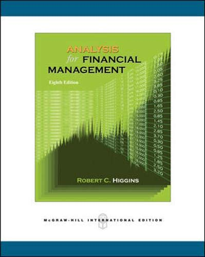 9780071257060: Analysis for Financial Management: With S&P Subscription Card