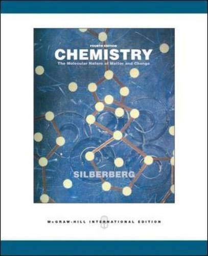 9780071257077: Chemistry: The Molecular Nature of Matter and Change